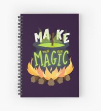 Make your own magic Spiral Notebook