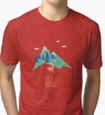 Back to nature T-shirt chiné