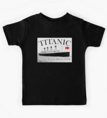 TITANIC, RMS Titanic, Cruise, Ship, Disaster Kids Clothes