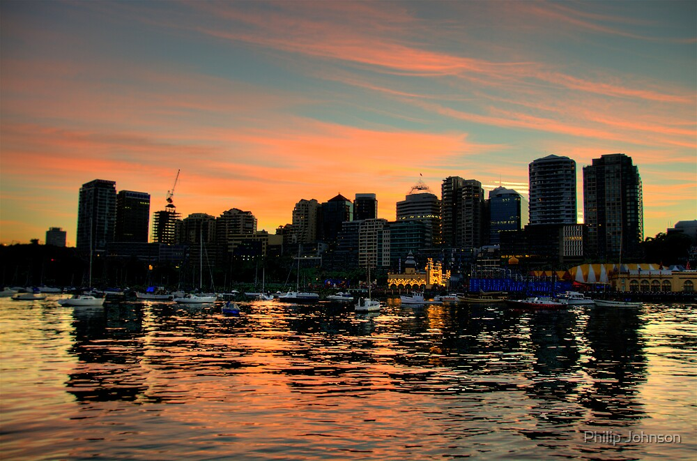 True Colours - Moods of A City #25 - THe HDR Series, Sydney Australia by Philip Johnson
