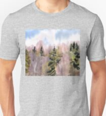Spring forest Unisex T-Shirt