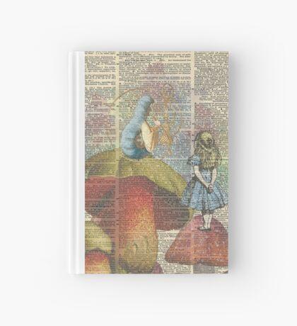 Alicia en el país de las maravillas - La oruga de fumar narguile Cuaderno de tapa dura