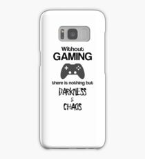 Without Gaming - Funny Video Game Player Merch Samsung Galaxy Case/Skin