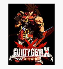 Guilty Gear Xrd  Sol Badguy Photographic Print
