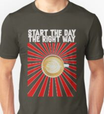 Start the day the right way! by Strange Fruit T-Shirt