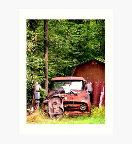 Old Truck Art Print