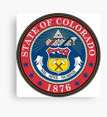 Colorado State Seal Canvas Print