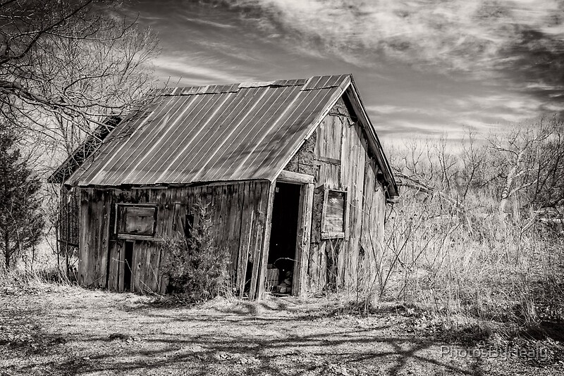 Old Shed III - B&W by Photos by Healy