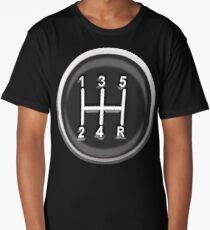 Gear, Knob, Gear shift knob, Stick, Shift, Car, Cars, Motorsport, Motoring, Race, Racing Long T-Shirt