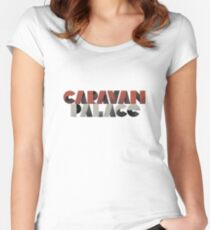 Caravan palace Women's Fitted Scoop T-Shirt