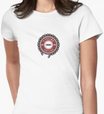 Cycling Portland Logo Womens Fitted T-Shirt