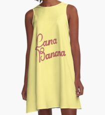 Lana banana  A-Line Dress