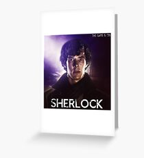 "Sherlock ""The Game is On"" Greeting Card"