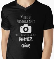 Without Photography - Funny Photographer Merch T-Shirt