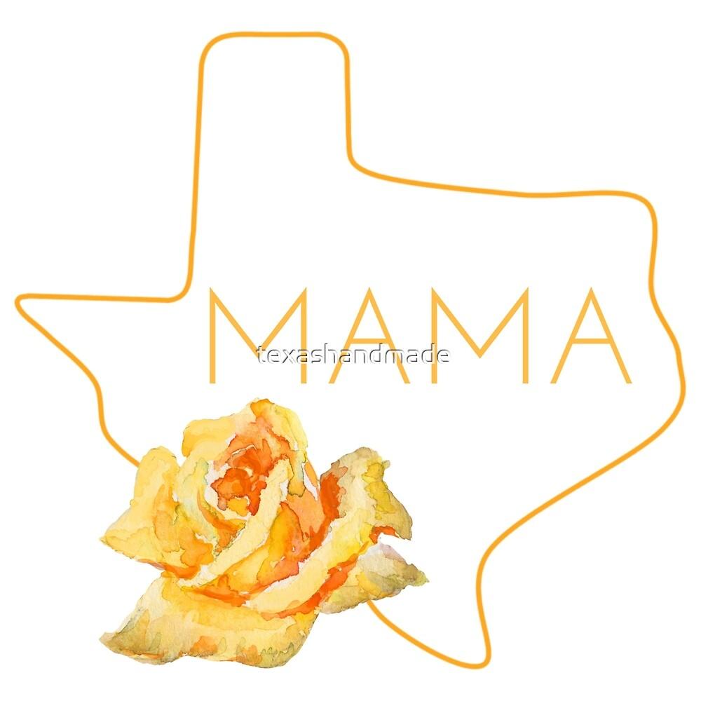 The Yellow Rose of Texas Mama by texashandmade
