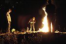 Bonfire by Moshe Cohen
