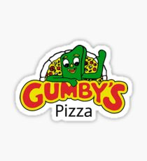 Gumby's Pizza Sticker