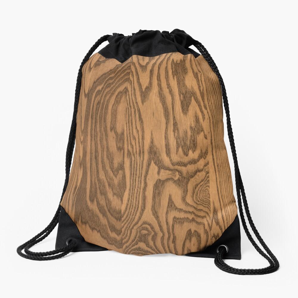 Wood 4 Drawstring Bag