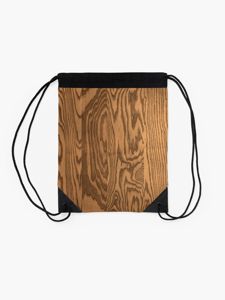 Alternate view of Wood 4 Drawstring Bag