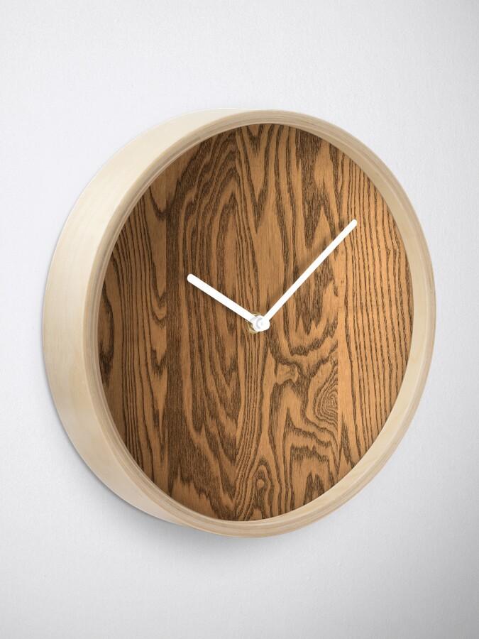 Alternate view of Wood 4 Clock