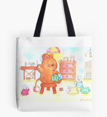 Mouse Mom Tote Bag