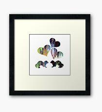 Ferrets Art Framed Print