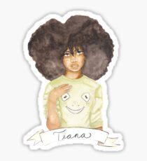 Tia | Black Princesses Sticker