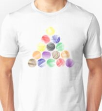 Billiards Colourful Design  Unisex T-Shirt