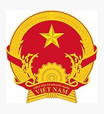 Vietnam Emblem Photographic Print
