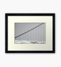 Golden Gate Bridge Fog Framed Print