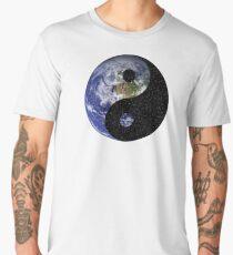 Yin & Yang: Earth and Space Men's Premium T-Shirt