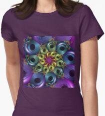 rainbow coloured fractal spiral T-Shirt