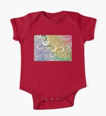 abstract rainbow fractal Kids Clothes