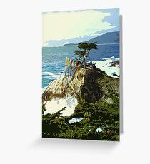 Pebble Beach California Greeting Card