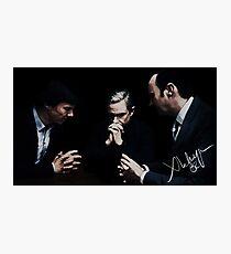 Sherlock, John and Mycroft Photographic Print