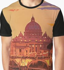 St. Peter's Basilica - Rome  Graphic T-Shirt