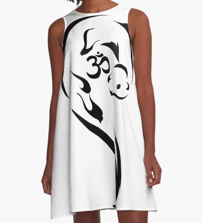 Om Otter II A-Line Dress