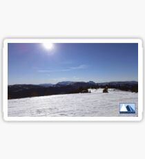 Snowy Scene 2 Sticker