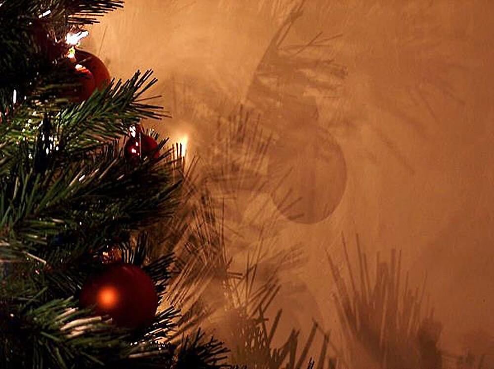 Christmas Tree Bauble Shadows by EternalRainbow