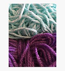 Yarn Photographic Print
