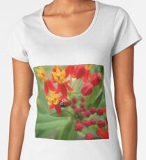 A Ladybug's Perspective  Women's Premium T-Shirt