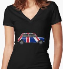 True Brit Women's Fitted V-Neck T-Shirt
