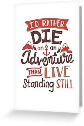 «Prefiero morir en una aventura» de ThroneOfShadows