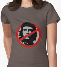 No Che Guevara Womens Fitted T-Shirt