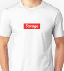 SAVAGE BOX LOGO - 21 T-Shirt