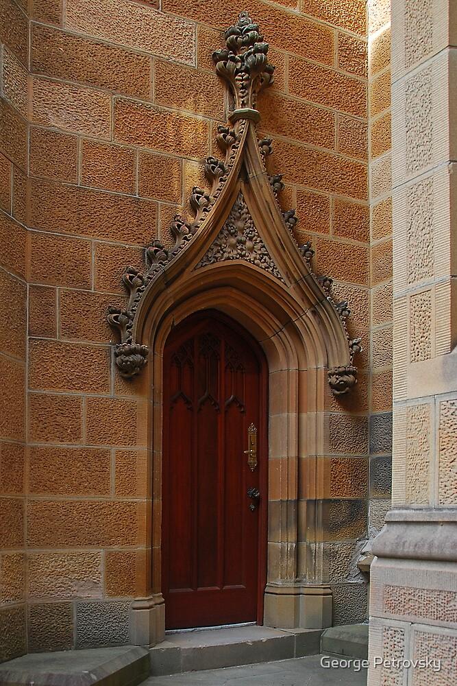 Sydney University Door #1 Detail by George Petrovsky