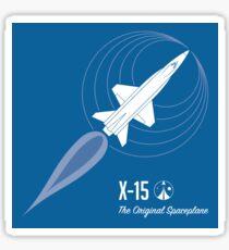 X-15 - The Original Spaceplane Sticker
