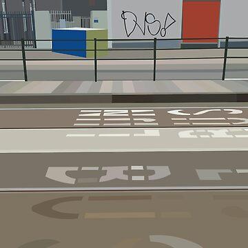 Street furniture and architecture minimalism Baden powellweg by markdalderup