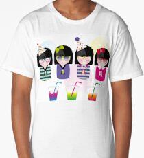 kokeshis party Long T-Shirt