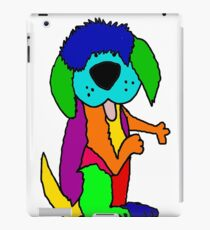 Funny Cool Old English Sheepdog Pop Art iPad Case/Skin